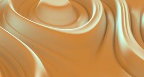 Vlotte abstracte textuur 3d illustratie als achtergrond Royalty-vrije Stock Foto