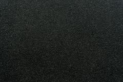 Vlotte asfaltweg De textuur van het tarmac, stock foto