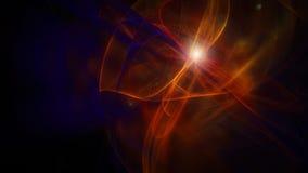 Vlotte donkere abstracte achtergrond met kleine flits Royalty-vrije Stock Afbeeldingen