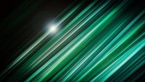Vlotte en elegante groene modieuze strepen Royalty-vrije Stock Foto's