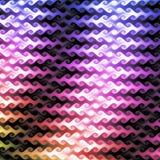Vlotte en Kleurrijke achtergrond Stock Foto