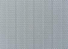 Vlotte geboorde metaaloppervlakte - Metaalachtergrond Stock Foto