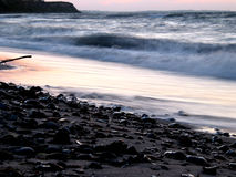 Vlotte golven Royalty-vrije Stock Fotografie