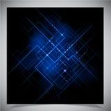 Vlotte kleurrijke abstracte technoachtergrond vector illustratie