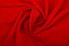 Vlotte Rode Zijde Royalty-vrije Stock Foto's
