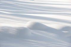 Vlotte sneeuw royalty-vrije stock fotografie