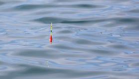 Vlotter voor de visserij van vlotters op de oppervlakte van het water royalty-vrije stock afbeelding