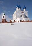 välsignad kyrklig mary nativityoskuld Arkivfoton