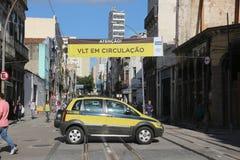 VLT Carioca的新的部分打开,但是不运作 图库摄影