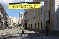 VLT Carioca的新的部分打开,但是不运作 库存照片
