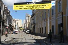 VLT Carioca的新的部分打开,但是不运作 免版税库存图片