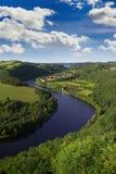 vltava ποταμών Στοκ Εικόνες