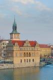 vltava όψης ποταμών Charles Πράγα γεφυρ Στοκ εικόνες με δικαίωμα ελεύθερης χρήσης