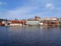 vltava реки prague замока готское Стоковые Фотографии RF