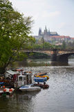 Vltava in Prague Stock Photos