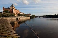 Vltava river Stock Image