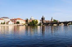 Vltava river Stock Photos
