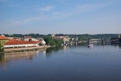 Vltava river Stock Photography