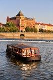 Vltava river in Prague Royalty Free Stock Images