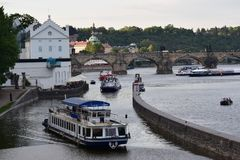 Vltava River Stock Photo