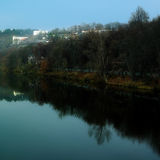Vltava river Royalty Free Stock Images