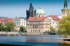 Vltava (rzeka) Zdjęcia Stock
