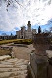 vltavou республики nad hluboka замока чехословакское стоковое фото rf