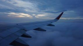 vlucht Stock Foto's
