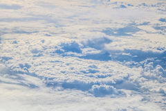 Vlucht aan Madera over Spanje Stock Fotografie