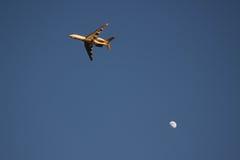 Vlucht bij Halve Maan Stock Afbeelding