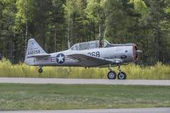 Vlucht dag 11 Mei, 2014 in Kjeller (airshow) Royalty-vrije Stock Afbeeldingen