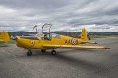 Vlucht dag 11 Mei, 2014 in Kjeller (airshow) Royalty-vrije Stock Foto