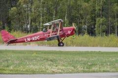 Vlucht dag 11 Mei, 2014 in Kjeller (airshow) Royalty-vrije Stock Afbeelding
