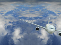 Vlucht Geen W375 Stock Foto's
