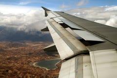 Vlucht over cusco Royalty-vrije Stock Foto's