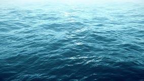Vlucht over oceaan, 4k video stock footage