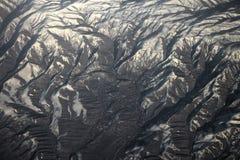 Vlucht over Pamir en Tien Shan 1 Royalty-vrije Stock Afbeelding