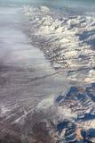 Vlucht over Pamir en Tien Shan 5 Royalty-vrije Stock Foto