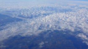 Vlucht over Scandinavië in Snelle Motie stock footage