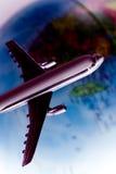 Vlucht rond de wereld Royalty-vrije Stock Foto