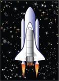 Vlucht in ruimte Stock Fotografie