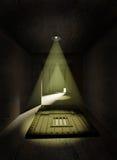 Vlucht van gevangenis vector illustratie