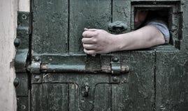 Vlucht van gevangenschap stock afbeeldingen