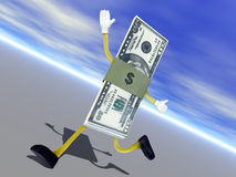 VLUCHTELINGSinflatie stock foto