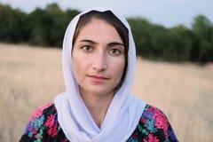 Vluchtelingsmeisje 5 royalty-vrije stock fotografie
