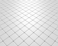 Vluchtende witte vloer Royalty-vrije Stock Foto