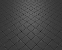 Vluchtende zwarte korrelige vloer Royalty-vrije Stock Afbeeldingen