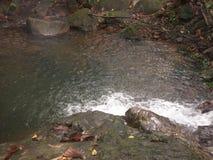 Vlugge stroom van water Royalty-vrije Stock Afbeelding