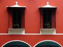 välva sig fönster Royaltyfri Fotografi