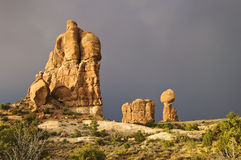 välva sig nationalparken Arkivbild